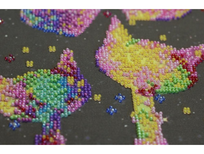 Kittens' Purrings Bead Embroidery Kit фото 3
