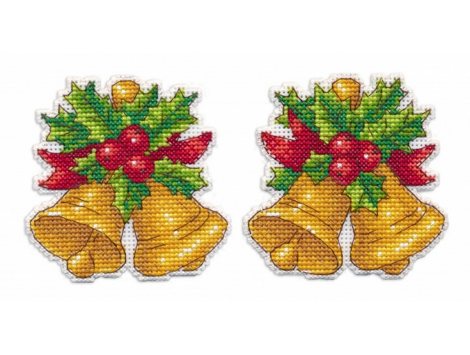 Christmas Toys. Bells Cross Stitch Kit фото 1