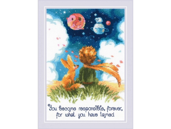 The Little Prince Cross Stitch Kit фото 1