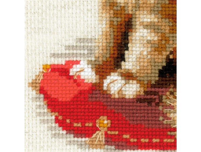 Pet Cat Cross Stitch Kit фото 3