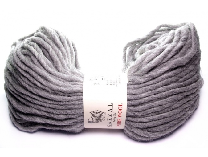 Gazzal Pure Wool-4, 100% Australian Wool, 4 Skein Value Pack, 400g фото 15