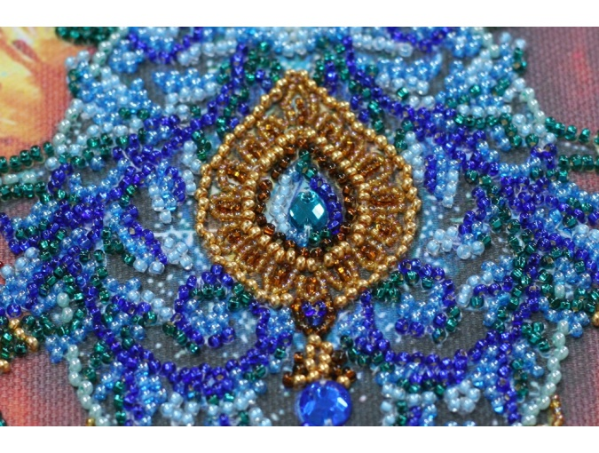 Faberge Beetle Bead Embroidery Kit фото 4