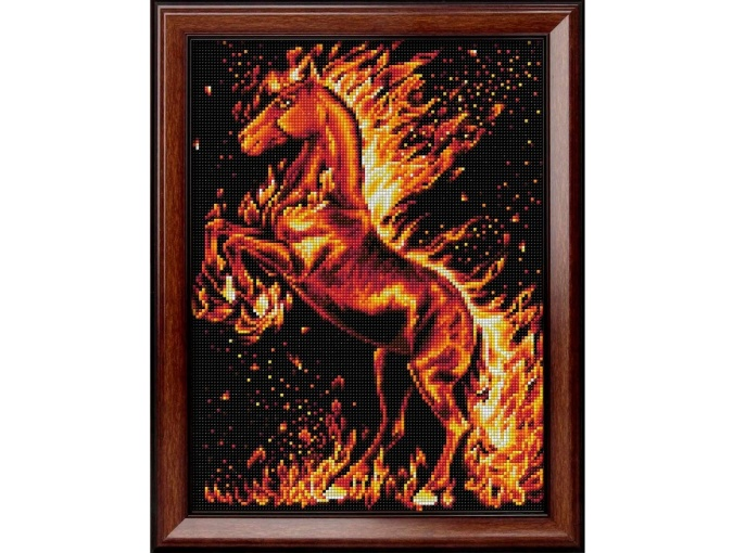 Fire Horse Diamond Painting Kit фото 1