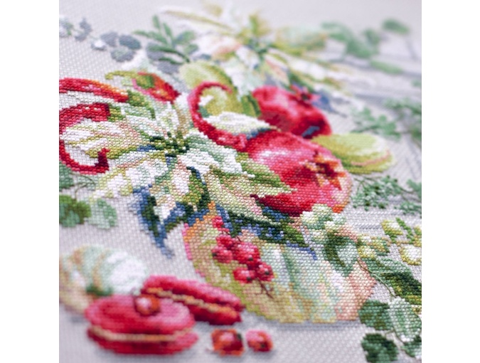 Winter Improvisation Cross Stitch Kit фото 6