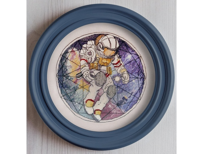 Cosmonaut Cross Stitch Pattern фото 2