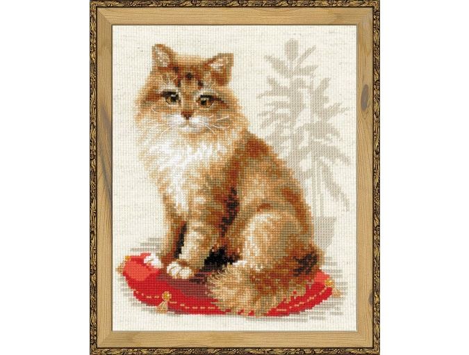 Pet Cat Cross Stitch Kit фото 1