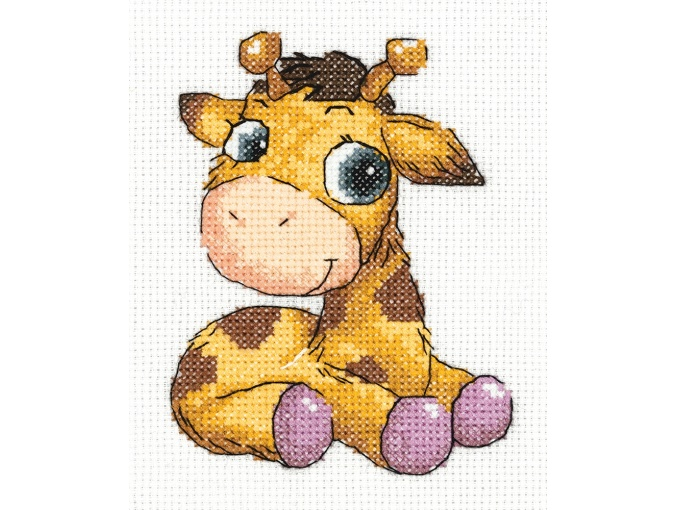 Jojo the Giraffe Cross Stitch Kit фото 1