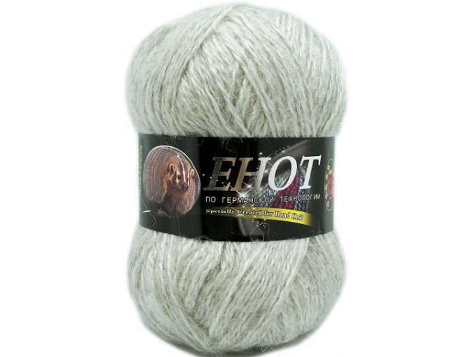 Color City Raccoon 60% Lambswool, 20% Raccoon Wool, 20% Acrylic, 10 Skein Value Pack, 1000g фото 31
