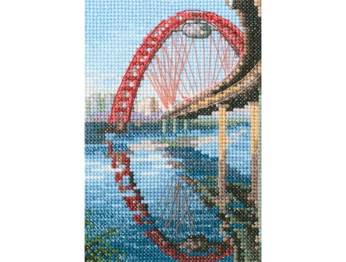 Picturesque Bridge Cross Stitch Kit фото 1