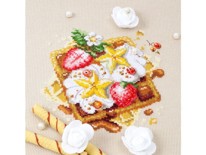 Viennese Waffles Cross Stitch Kit фото 7