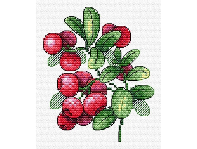Lingonberry Flavor Cross Stitch Kit фото 1