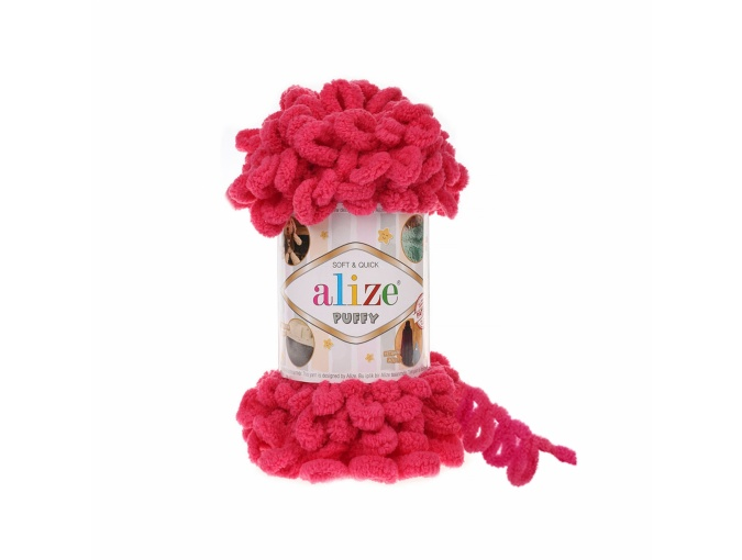 Alize Puffy, 100% Micropolyester 5 Skein Value Pack, 500g фото 25