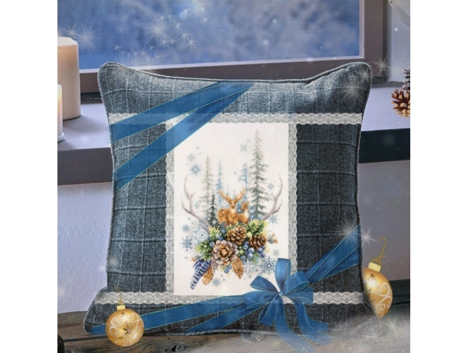 Winter Forest Spirit Cross Stitch Kit фото 3
