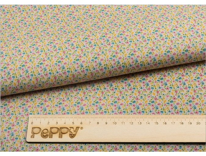 Fat Quarter Peppy, print Pink with Little Flowers фото 2