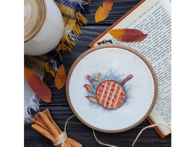 Autumn Miniatures. Pie Cross Stitch Pattern фото 3