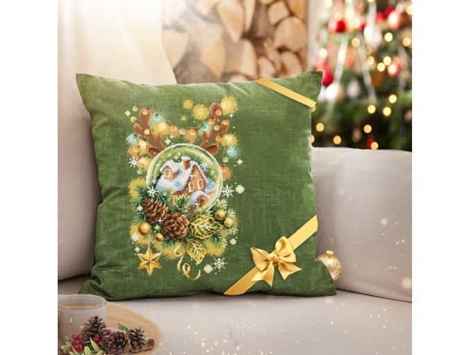 Light Christmas Cross Stitch Kit фото 8