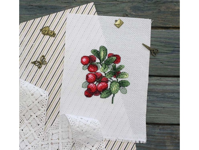 Lingonberry Flavor Cross Stitch Kit фото 2