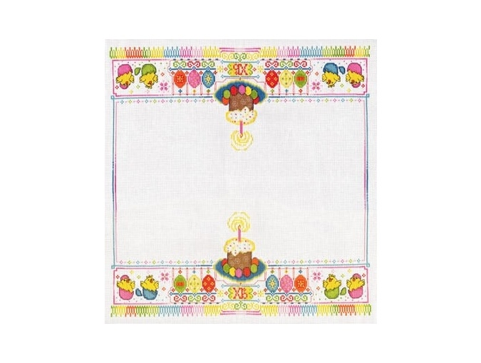 Napkin for Easter Cross Stitch Kit фото 1
