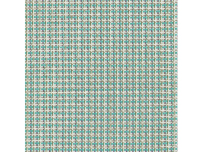 Fat Quarter Peppy, print Turquoise/Pale Green Checkered фото 1