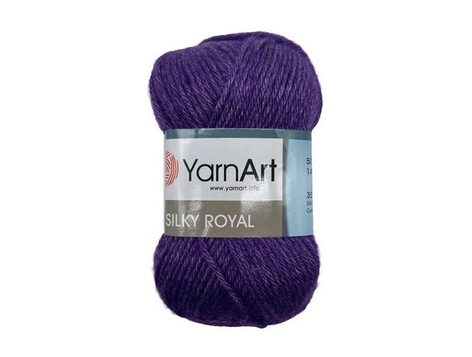 YarnArt Silky Royal 35% Silk Rayon, 65% Merino Wool, 5 Skein Value Pack, 250g фото 10