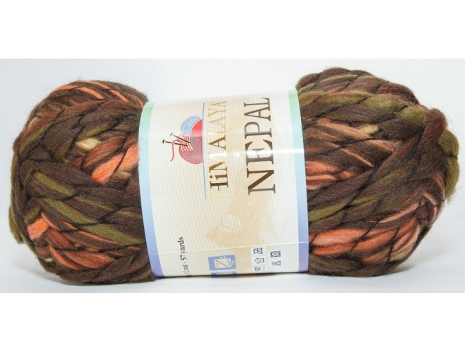 Himalaya Nepal 48% wool, 52% acrylic, 3 Skein Value Pack, 600g фото 3
