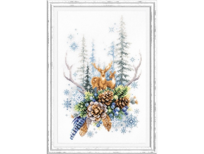 Winter Forest Spirit Cross Stitch Kit фото 1