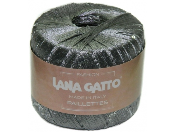 Lana Gatto Paillettes 100% Polyester, 10 Skein Value Pack, 250g фото 6
