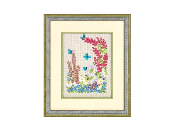 Flower World Embroidery Kit фото 2