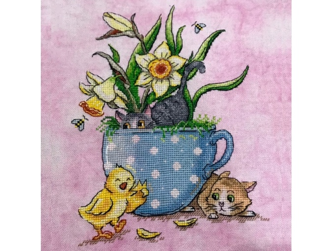 Ginger & Ash - April Cross Stitch Pattern фото 3