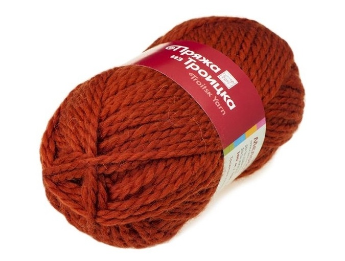 Troitsk Wool Melody, 50% wool, 50% acrylic 10 Skein Value Pack, 1000g фото 10