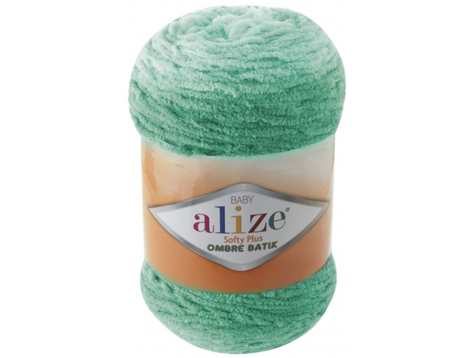Alize Softy Plus Ombre Batik, 100% Micropolyester 1 Skein Value Pack, 500g фото 7