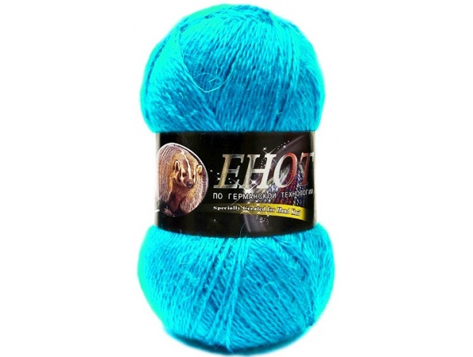 Color City Raccoon 60% Lambswool, 20% Raccoon Wool, 20% Acrylic, 10 Skein Value Pack, 1000g фото 8