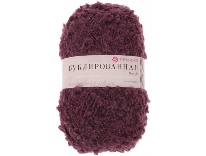 Pekhorka Boucle, 30% Mohair, 20% Wool, 50% Acrylic, 5 Skein Value Pack, 1000g фото 19