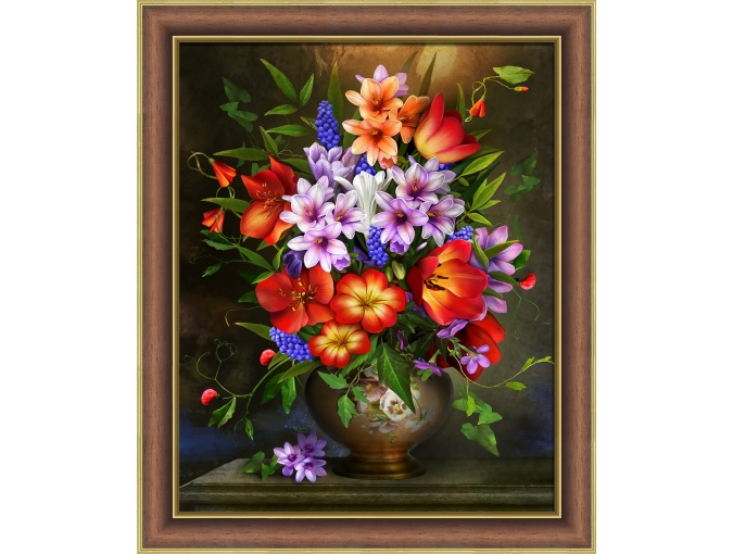 Assorted Flowers Diamond Painting Kit фото 1