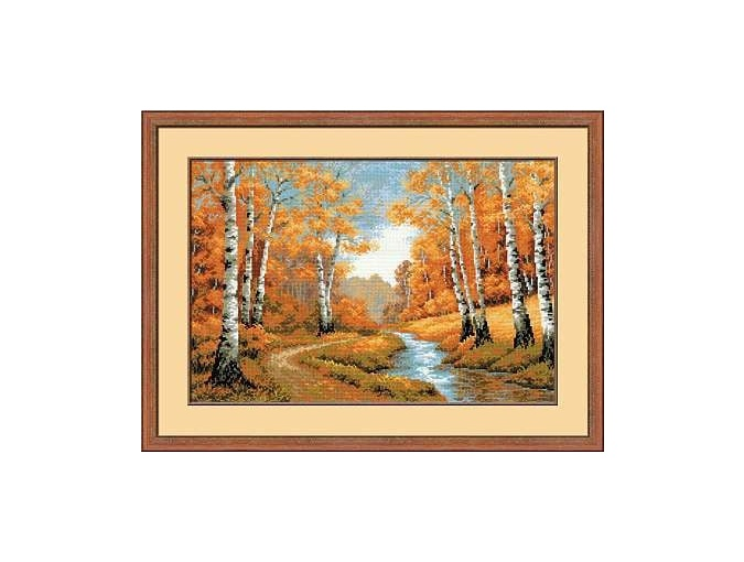 The Golden Grove Cross Stitch Kit фото 1