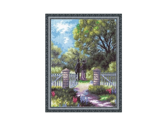 At the Gate Cross Stitch Kit фото 1
