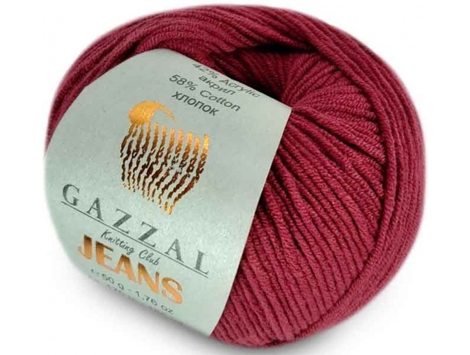 Gazzal Jeans, 58% Cotton, 42% Acrylic 10 Skein Value Pack, 500g фото 40