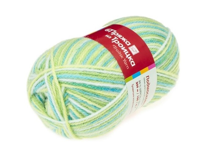 Troitsk Wool Countryside Print, 50% wool, 50% acrylic 10 Skein Value Pack, 1000g фото 44