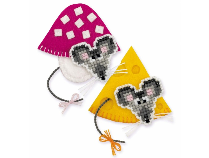 Magnets Mice Cross Stitch Kit фото 1