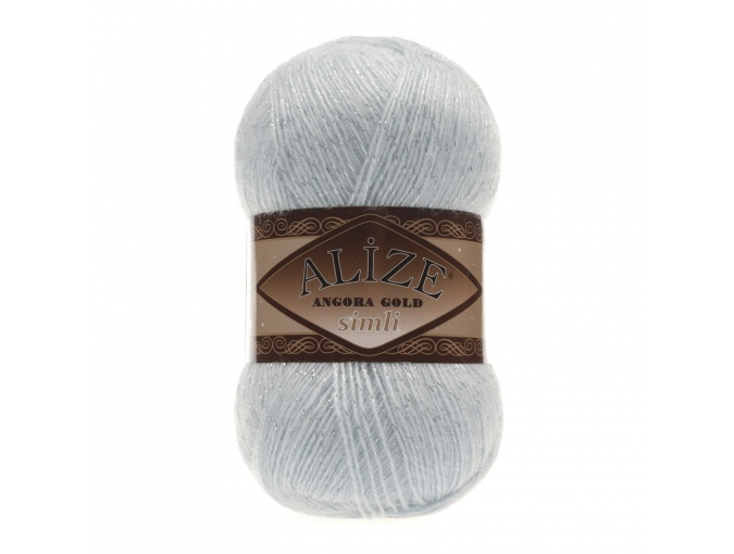 Alize Angora Gold Simli, 5% Lurex, 10% Mohair, 10% Wool, 75% Acrylic, 5 Skein Value Pack, 500g фото 45