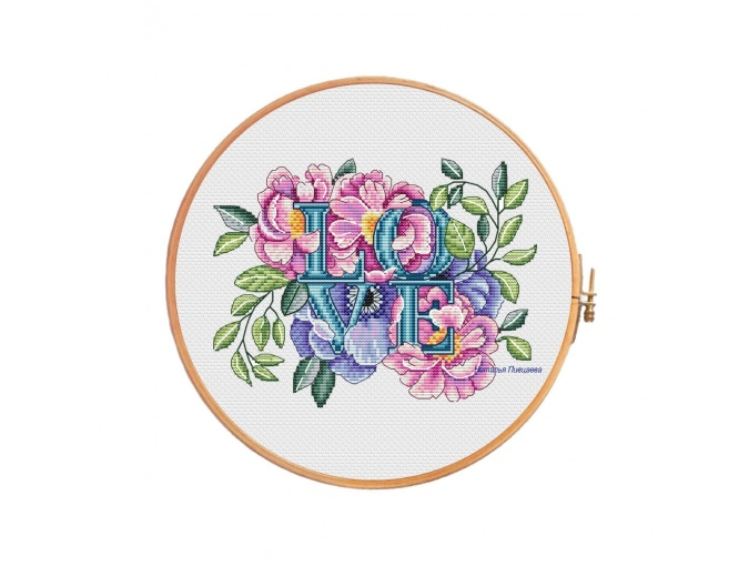 Bridelove Cross Stitch Pattern фото 1