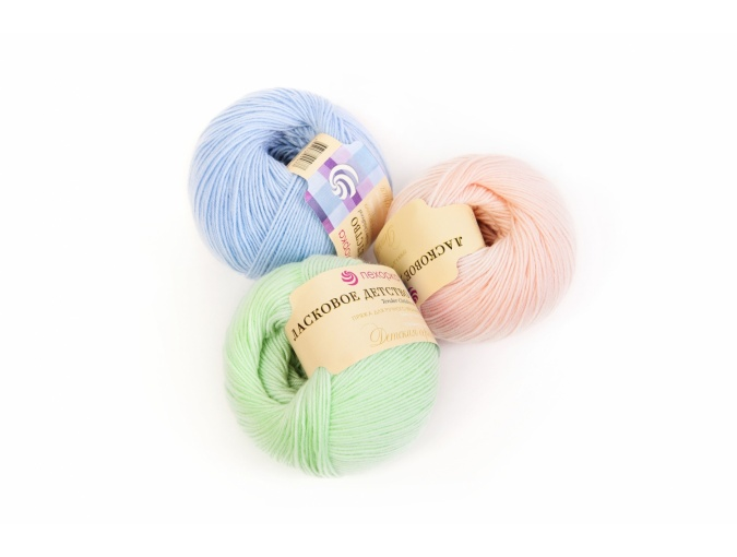 Pekhorka Tender Childhood, 100% Merino Wool 5 Skein Value Pack, 250g фото 1