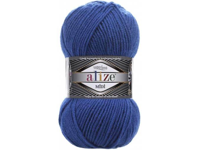 Alize Superlana Midi 25% Wool, 75% Acrylic, 5 Skein Value Pack, 500g фото 16