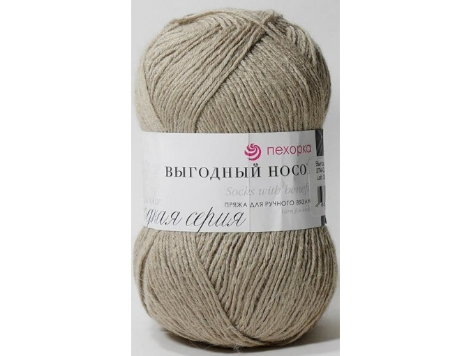 Pekhorka Socks with benefits, 40% Wool, 60% Acrylic 5 Skein Value Pack, 500g фото 17