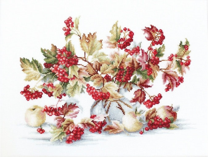 Guelder Rose Cross Stitch Kit фото 1