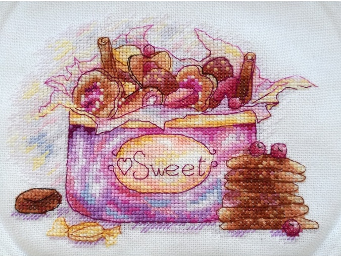 Sweet Box Cross Stitch Pattern фото 2