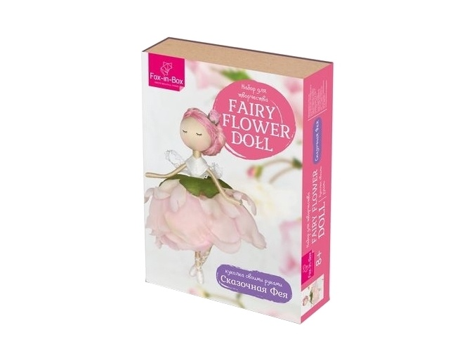 Fairy Flower Doll Sewing Kit фото 1