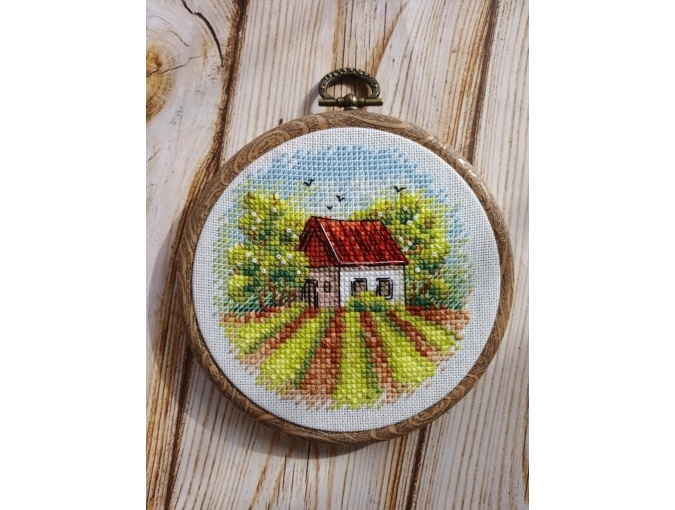 Country House Cross Stitch Pattern фото 2