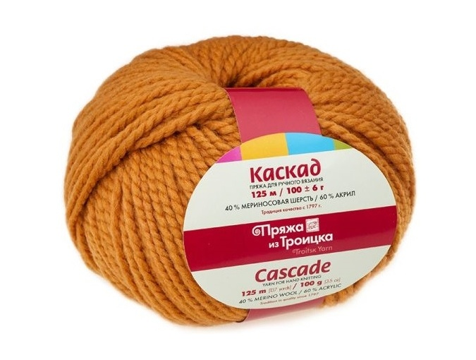 Troitsk Wool Cascade, 40% wool, 60% acrylic 10 Skein Value Pack, 1000g фото 18