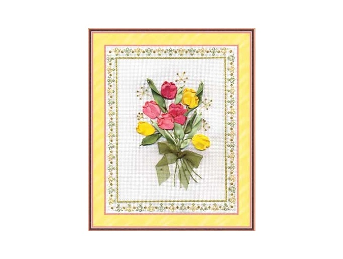 Tulips Embroidery Kit фото 1